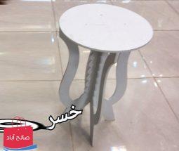 خرید عمده میز PVC گرد طرح مینیاتوری