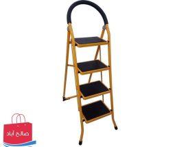 خرید عمده نردبان تاشو خانگی مدل ۴ پله