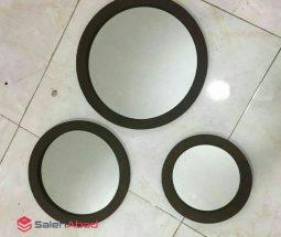 خرید عمده آینه مدل ۳ تکه دیواری دکوراتیو
