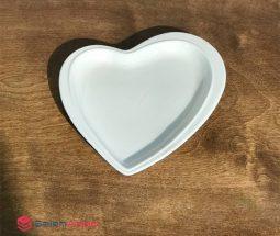 خرید عمده پیش دستی سرامیکی طرح قلبی