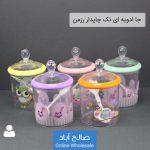 فروش عمده جا ادویه تکی چاپدار رزمن