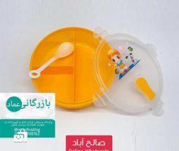 خرید عمده ظرف نگهداری غذای کودک ۳ خانه