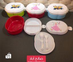 خرید عمده ظرف نگهداری غذای کودک ۲ طبقه