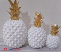 خرید عمده ست مجسمه آناناس تزئینی