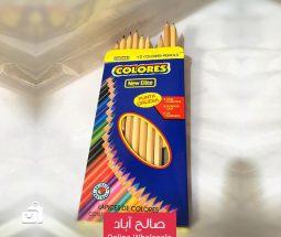 خرید عمده مداد رنگی ۱۲ تایی NEW ELITE