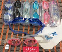 خرید عمده عینک شنا رنگی SHUMAN