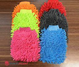 خرید عمده دستکش ماکارونی میکروفایبر
