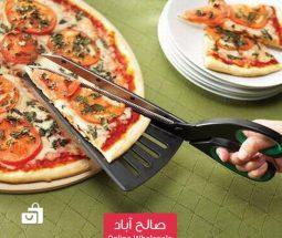 خرید عمده قیچی برش پیتزا ۲ کاره