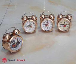 خرید عمده ساعت شماطه دار فلزی کوچک