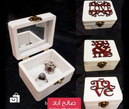 خرید عمده جعبه جواهرات کوچک آینهدار