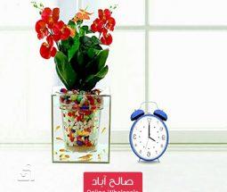 خرید عمده گلدان آکواریومی رومیزی