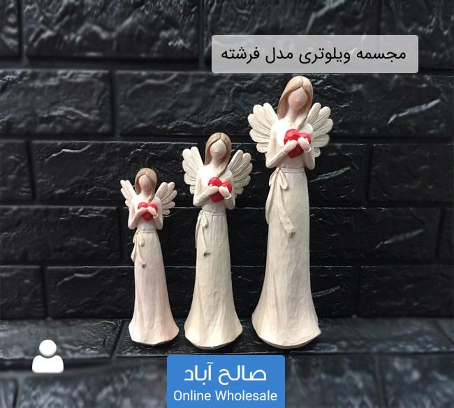 فروش عمده مجسمه ویلوتری مدل فرشته