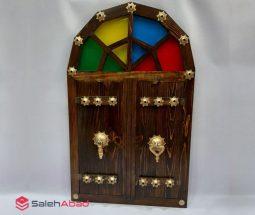 خرید عمده آینه چوبی کوچک مدل کلوندار