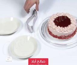 خرید عمده اسلایسر قالبی کیک استیل