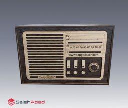 خرید عمده جا دستمال کاغذی رادیو قدیمی