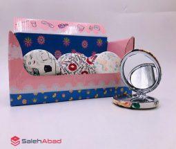خرید عمده آینه جیبی تاشو طرحدار