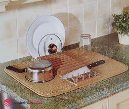 خرید عمده آبگیر ظروف مدل رومیزی