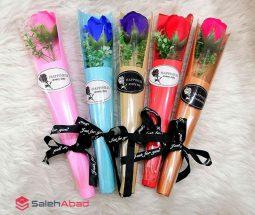 فروش عمده شاخه گل رز تکی کادوئی