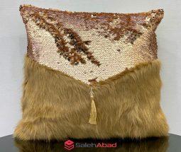 فروش عمده کوسن تزئینی مبل پولکدار