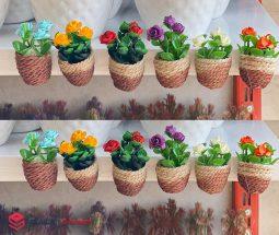 فروش عمده مگنت رو یخچالی طرح گلدان