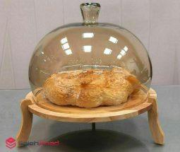 فروش عمده ظرف کیک خوری پایه چوبی