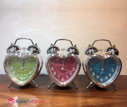 فروش عمده ساعت شماطه دار طرح قلب