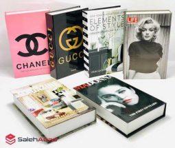 خرید عمده کتاب دکوری مقوایی طرحدار