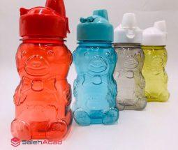 فروش عمده قمقمه آب پلاستیکی طرح خرس