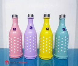 فروش عمده بطری آب شیشهای رنگی