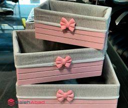 فروش عمده باکس ۳ تایی فانتزی رومیزی