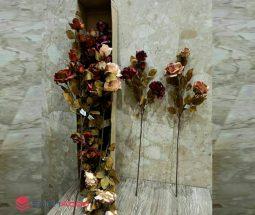 فروش عمده گل رز مصنوعی شاخهای