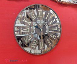 فروش عمده ساعت دیواری آینهای گرد