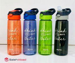 فروش عمده قمقمه آب پلاستیکی شفاف