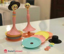 فروش عمده زیر لیوانی با پایه عروسکی