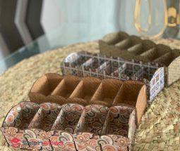 فروش عمده تقسیم کننده چوبی ۵ خانه