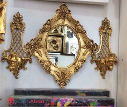 فروش عمده آینه و شمعدان دیواری شیک