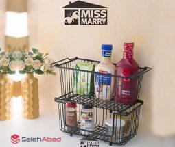 فروش عمده سبد نظم دهنده فلزی آشپزخانه