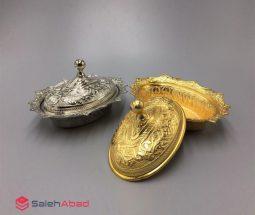 فروش عمده قندان ترکیه ای فلزی
