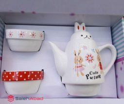 فروش عمده ست چای خوری خرگوش دو نفره