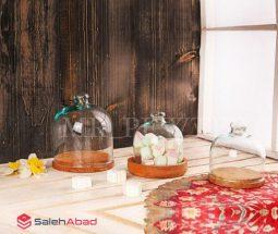 فروش عمده ظرف کاپ کیک چوبی سایز کوچک