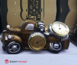 فروش عمده ساعت رومیزی طرح ماشین