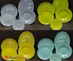 فروش عمده سرویس غذاخوری اوپال رنگی