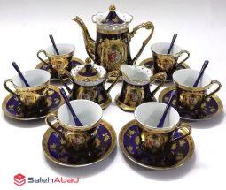 فروش عمده سرویس چای خوری چینی سرمهای