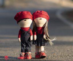 فروش عمده ست عروسک روسی ولنتاین