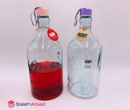 فروش عمده بطری شیشهای ۳ لیتری دنیز
