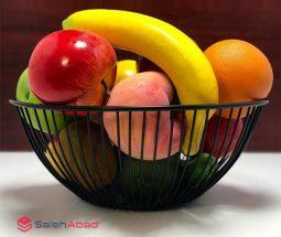 فروش عمده سبد فلزی میوه خوری