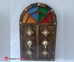 فروش عمده آینه چوبی دکوری طرح سنتی