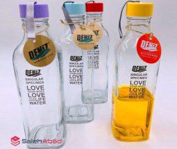فروش عمده بطری شیشهای طرح لاو DENIZ