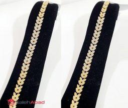 فروش عمده دستبند ژوپینگ طرح برگ