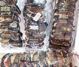 فروش عمده دستبند چرمی اسپرت